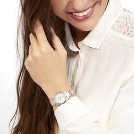 Montre Seiko Classique Blanc - Montres classiques Femme   Histoire d'Or