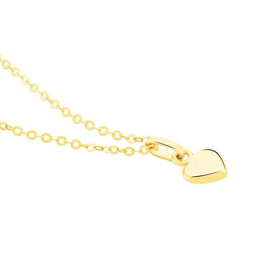 Collier Aricia Coeur Or Jaune - Colliers Coeur Enfant | Histoire d'Or