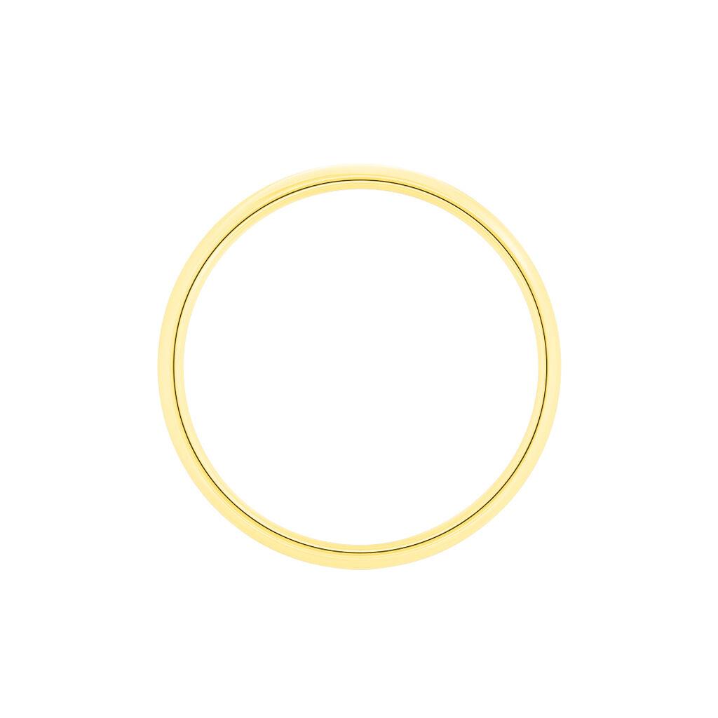 Alliance Or Jaune Sonia Demi Jonc - Alliances Unisexe | Histoire d'Or