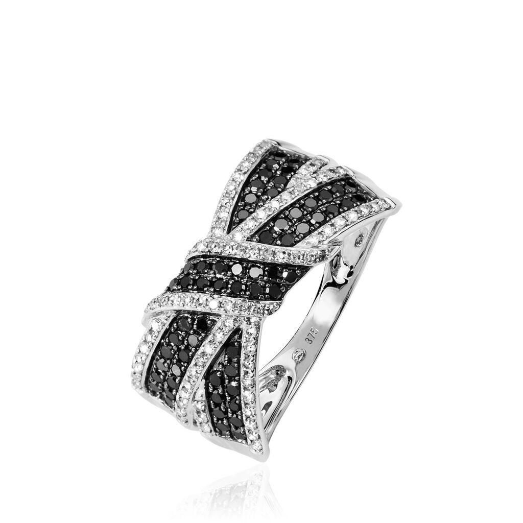 Bague Agnes Or Blanc Diamant - Bagues avec pierre Femme | Histoire d'Or