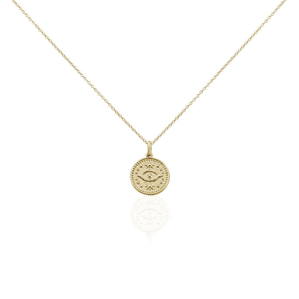 Collier Taneya Plaque Or Jaune - Colliers fantaisie Femme | Histoire d'Or