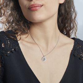 Colliet Larry Argent Rhodié Oxydes De Zirconium - Colliers fantaisie Femme | Histoire d'Or