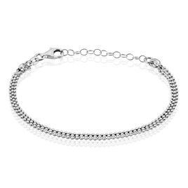 Bracelet Sebille Argent Blanc - Bracelets fantaisie Femme   Histoire d'Or