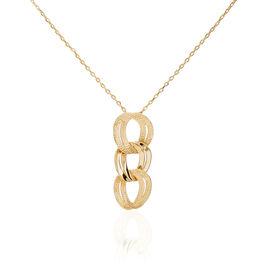 Collier Luxury Plaque Or Jaune - Bijoux Femme | Histoire d'Or
