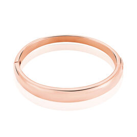 Bracelet Jonc Yara Acier Rose - Bracelets fantaisie Femme   Histoire d'Or