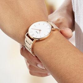 Montre Cluse Minuit Blanc - Montres classiques Femme | Histoire d'Or