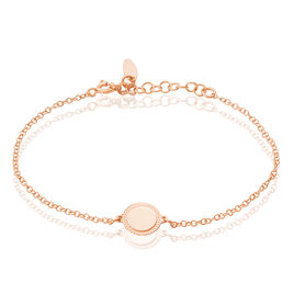 Bracelet Tam Argent Rose Pastille - Bracelets fantaisie Femme | Histoire d'Or