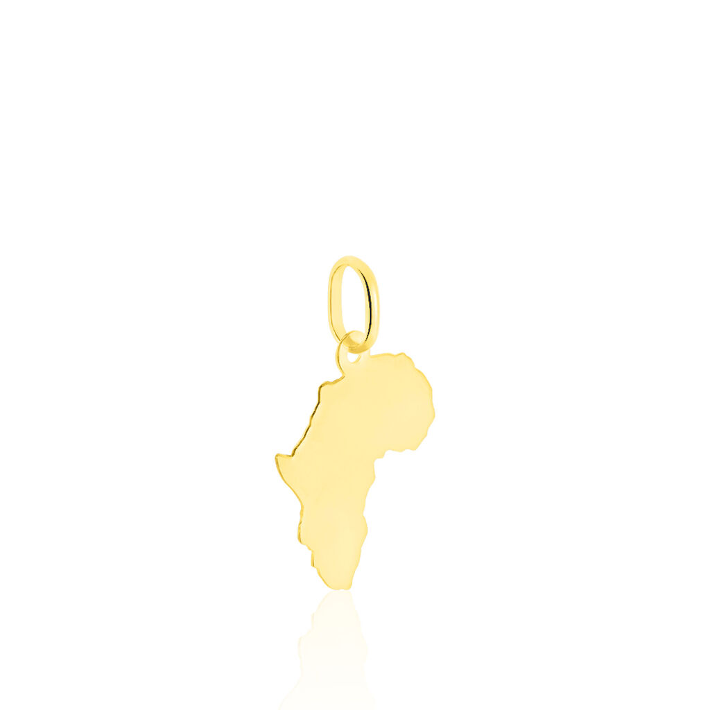 Pendentif Gaietana Afrique Or Jaune - Pendentifs Unisex | Histoire d'Or