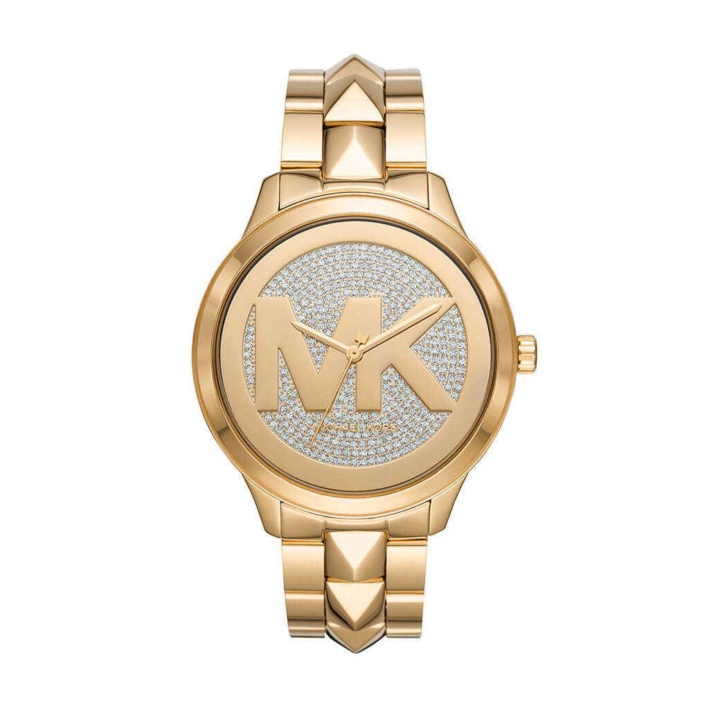 Montre Michael Kors Runway Mercer Champagne - Montres tendances Femme | Histoire d'Or