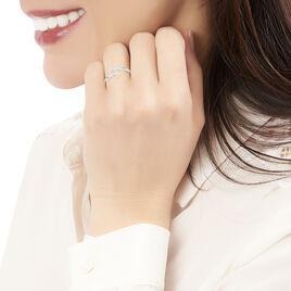 Bague Danilana Or Blanc Diamant - Bagues Etoile Femme | Histoire d'Or