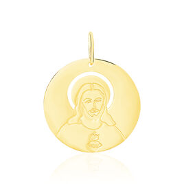 Pendentif Elyn Rond Or Jaune - Pendentifs Famille | Histoire d'Or