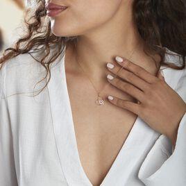 Collier Griseldis Or Jaune  Oxyde - Colliers Coeur Femme   Histoire d'Or