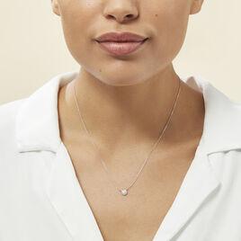 Collier Alias Or Blanc Diamant - Bijoux Femme | Histoire d'Or
