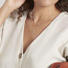 Pendentif Salvy Or Jaune Oxyde De Zirconium - Pendentifs Arbre de vie Femme   Histoire d'Or