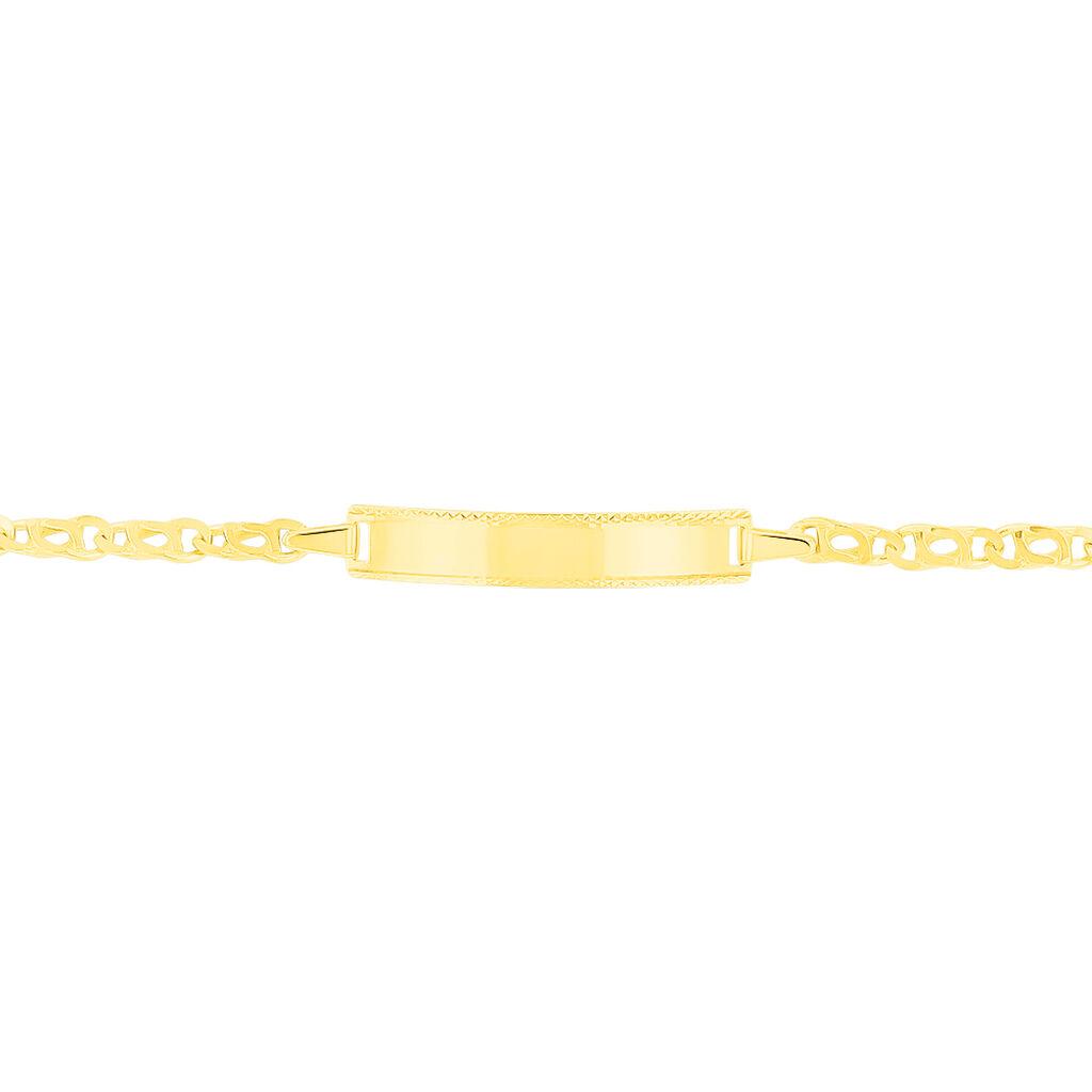 Bracelet Identité Caulineae Or Jaune - Bracelets Communion Enfant | Histoire d'Or