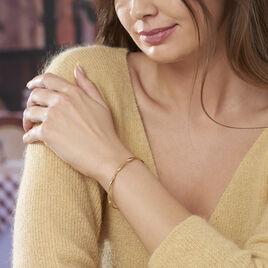 Bracelet Jonc Anaisaae Torsade Or Jaune - Bracelets joncs Femme | Histoire d'Or