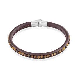 Bracelet Acier Blanc Quartz - Bijoux Homme | Histoire d'Or