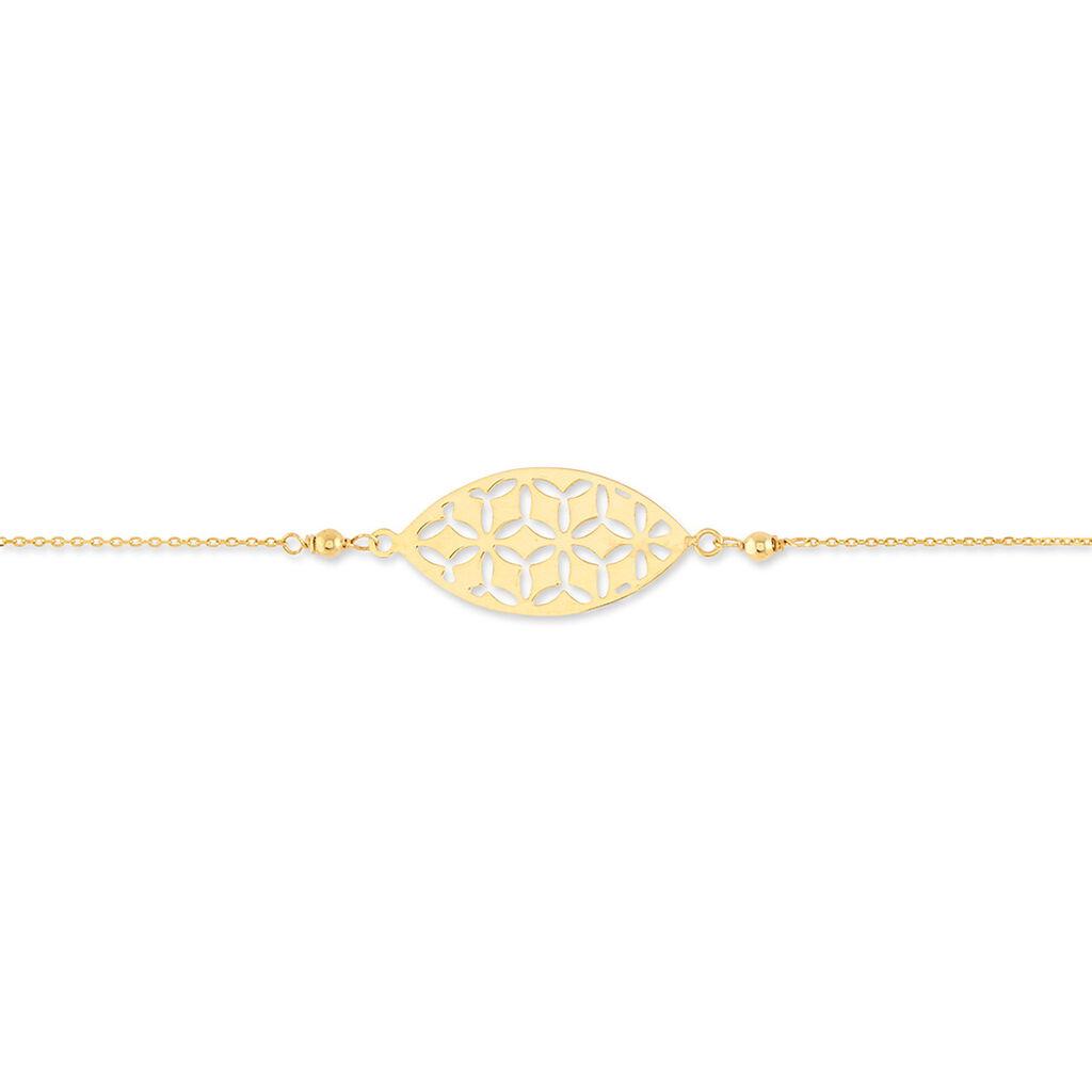 Bracelet Or Jaune - Bijoux Femme   Histoire d'Or