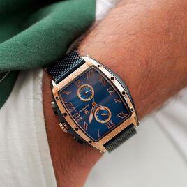 Montre Montignac Dt Chrono Bleu - Montres tendances Homme | Histoire d'Or