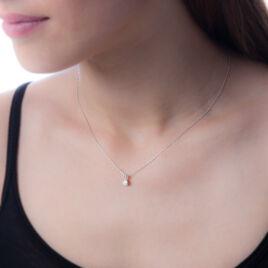 Collier Orphee Or Blanc Diamant - Bijoux Femme | Histoire d'Or