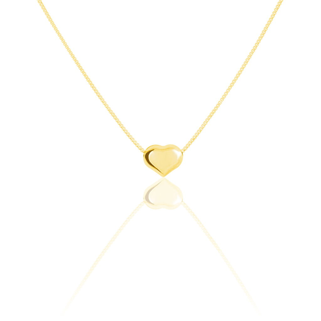 Collier Aricia Coeur Or Jaune - Colliers Coeur Enfant | Histoire d'Or