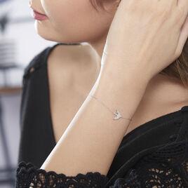 Bracelet Zetta Or Blanc Diamant - Bijoux Femme | Histoire d'Or