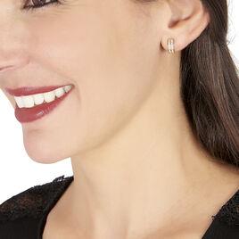 Boucles D'oreilles Or Jaune Creoles - Boucles d'oreilles créoles Femme | Histoire d'Or