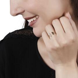 Bague Shannahae Or Jaune Diamant - Bagues avec pierre Femme   Histoire d'Or