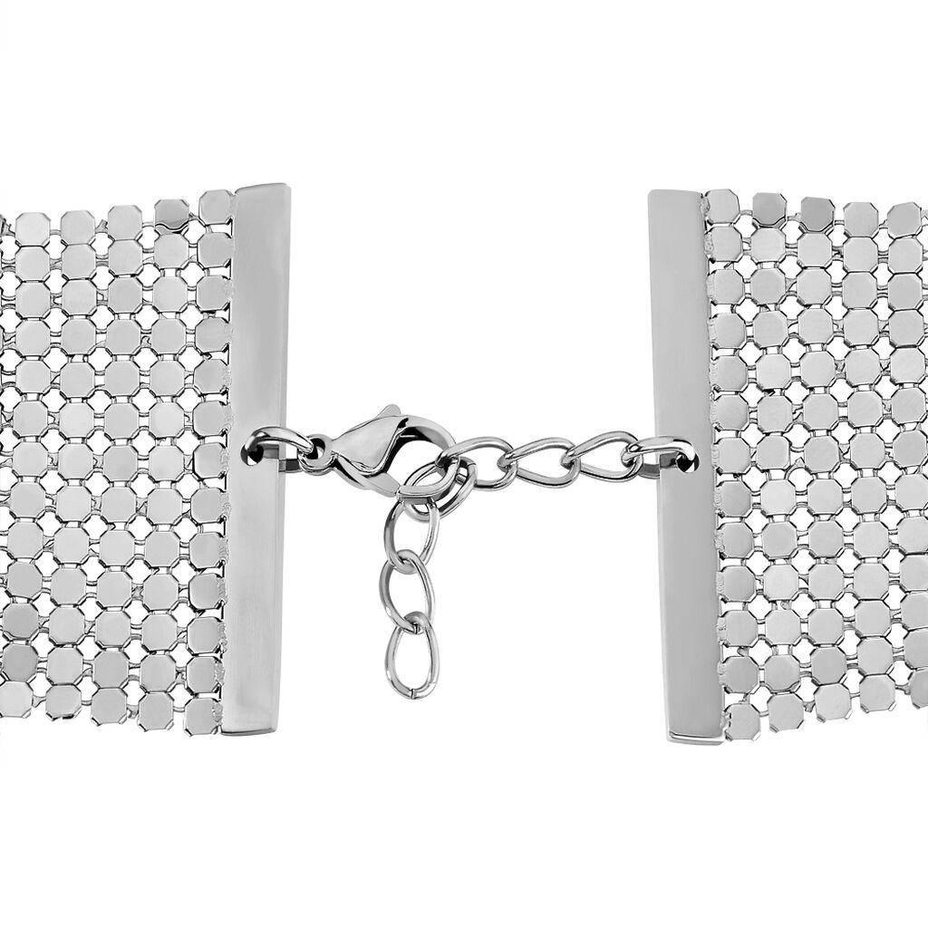 Bracelet Mureille Acier Blanc - Bracelets fantaisie Femme   Histoire d'Or