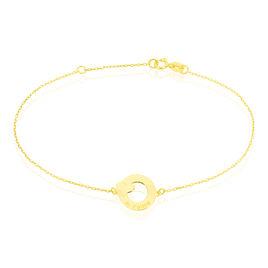 Bracelet Varinka Or Jaune - Bracelets Coeur Femme   Histoire d'Or