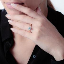 Solitaire Or Jaune Grace Et Diamant - Bagues avec pierre Femme   Histoire d'Or