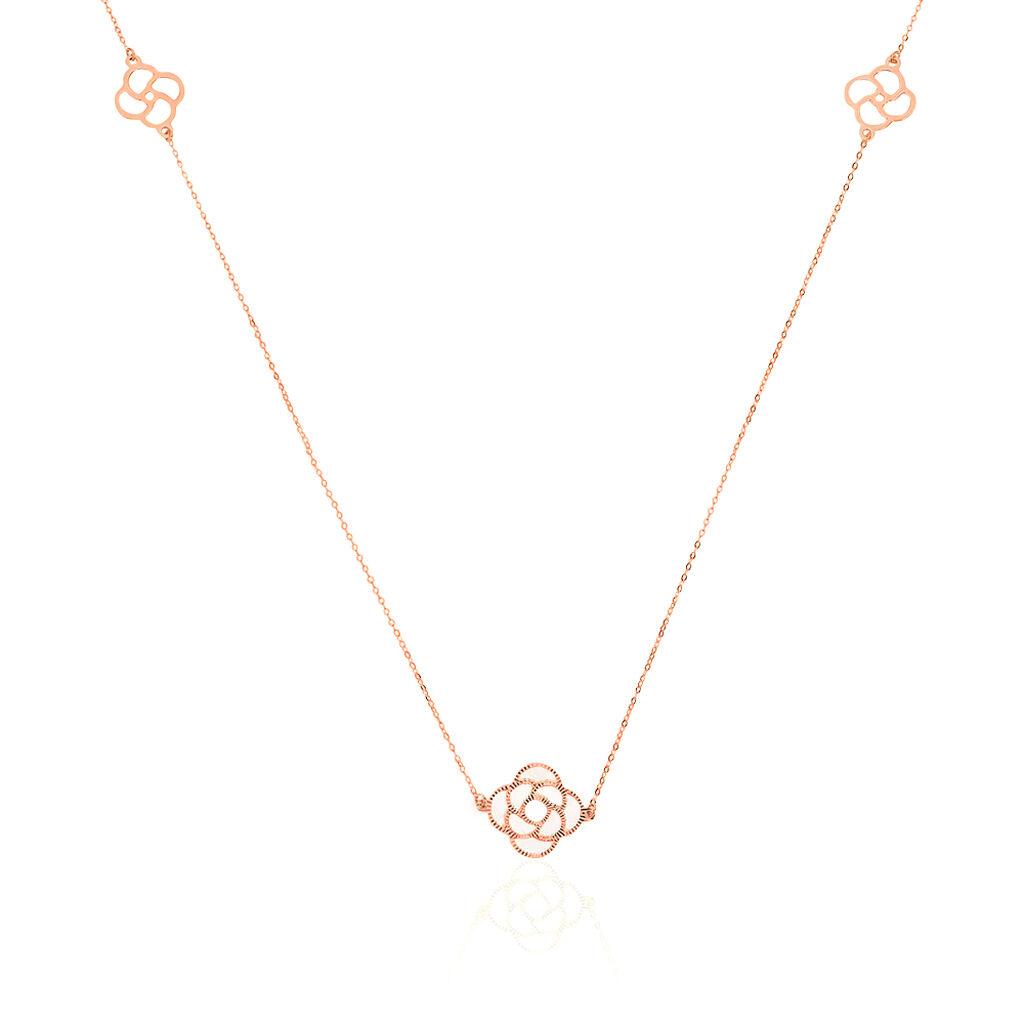 Collier Sautoir Or Rose - Sautoirs Femme | Histoire d'Or