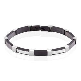 Bracelet Jack Acier Blanc - Bracelets fantaisie Homme | Histoire d'Or