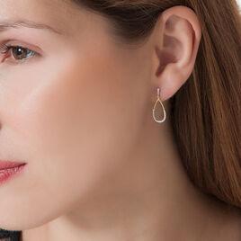 Boucles D'oreilles Puces Betina Or Jaune Diamant - Clous d'oreilles Femme | Histoire d'Or