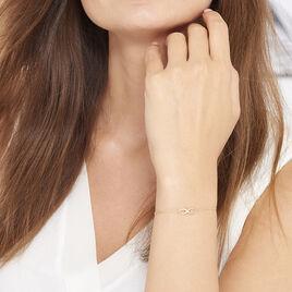 Bracelet Infini Multiple Or Jaune - Bracelets Infini Femme   Histoire d'Or