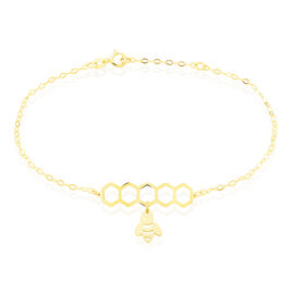 Bracelet Elinda Or Jaune - Bijoux Femme   Histoire d'Or