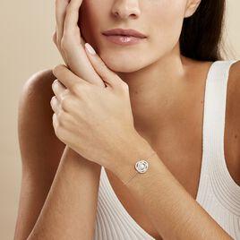 Bracelet Matilda Argent Blanc Perle De Culture Et Oxyde De Zirconium - Bracelets fantaisie Femme | Histoire d'Or