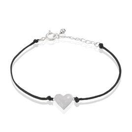Bracelet Esterina Argent Blanc Oxyde De Zirconium - Bracelets Coeur Femme | Histoire d'Or