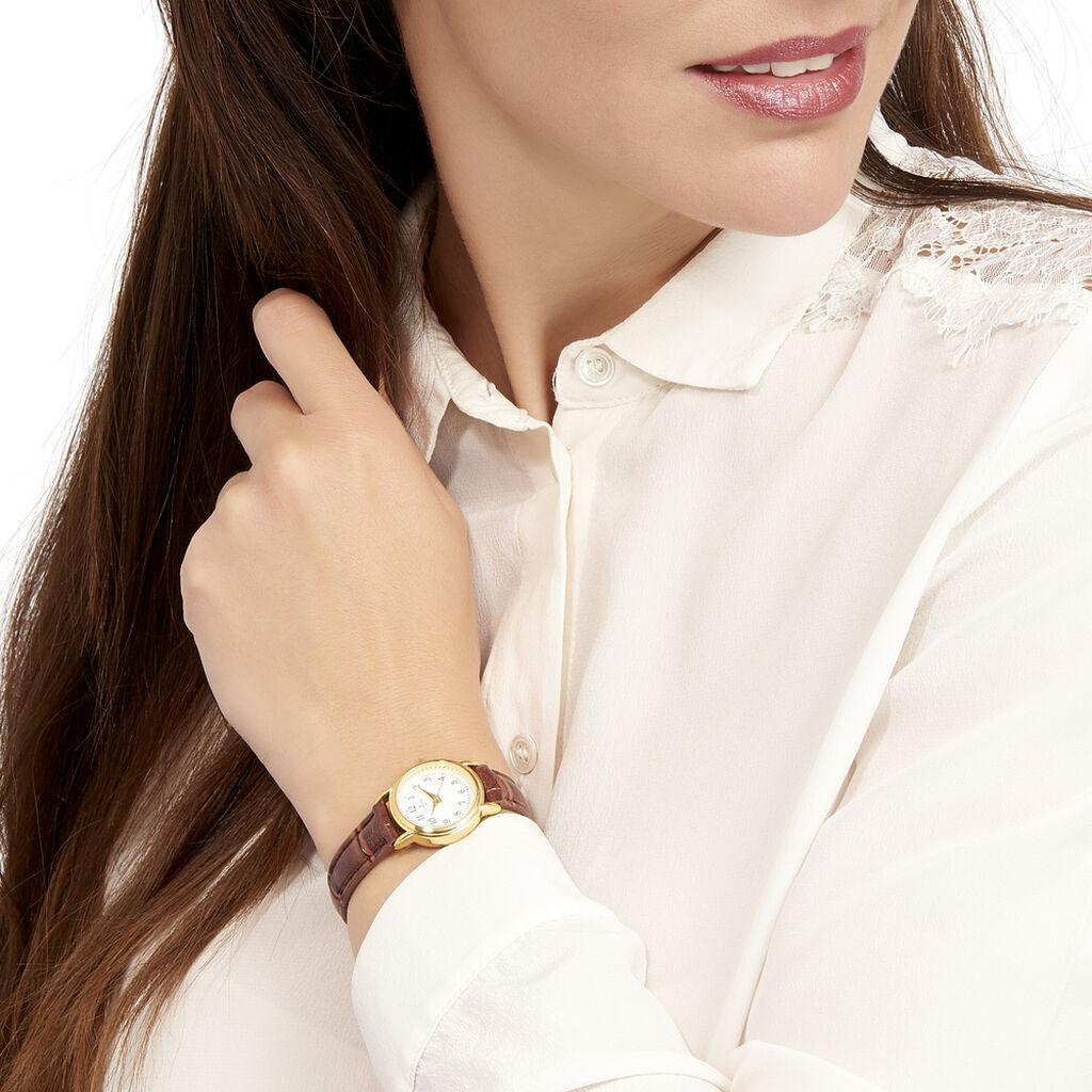 Montre Codhor Veronique Blanc - Montres classiques Femme   Histoire d'Or