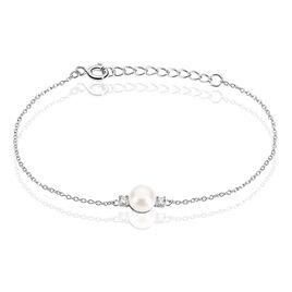 Bracelet Argent Perle De Culture  - Bracelets fantaisie Femme | Histoire d'Or