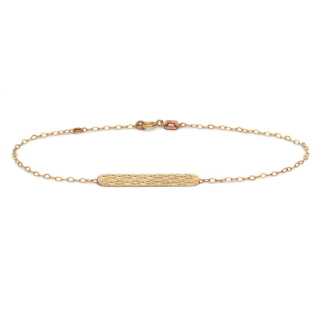 Bracelet Or Jaune - Gourmettes Femme | Histoire d'Or