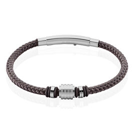 Bracelet Simon Acier Blanc - Bracelets fantaisie Homme | Histoire d'Or