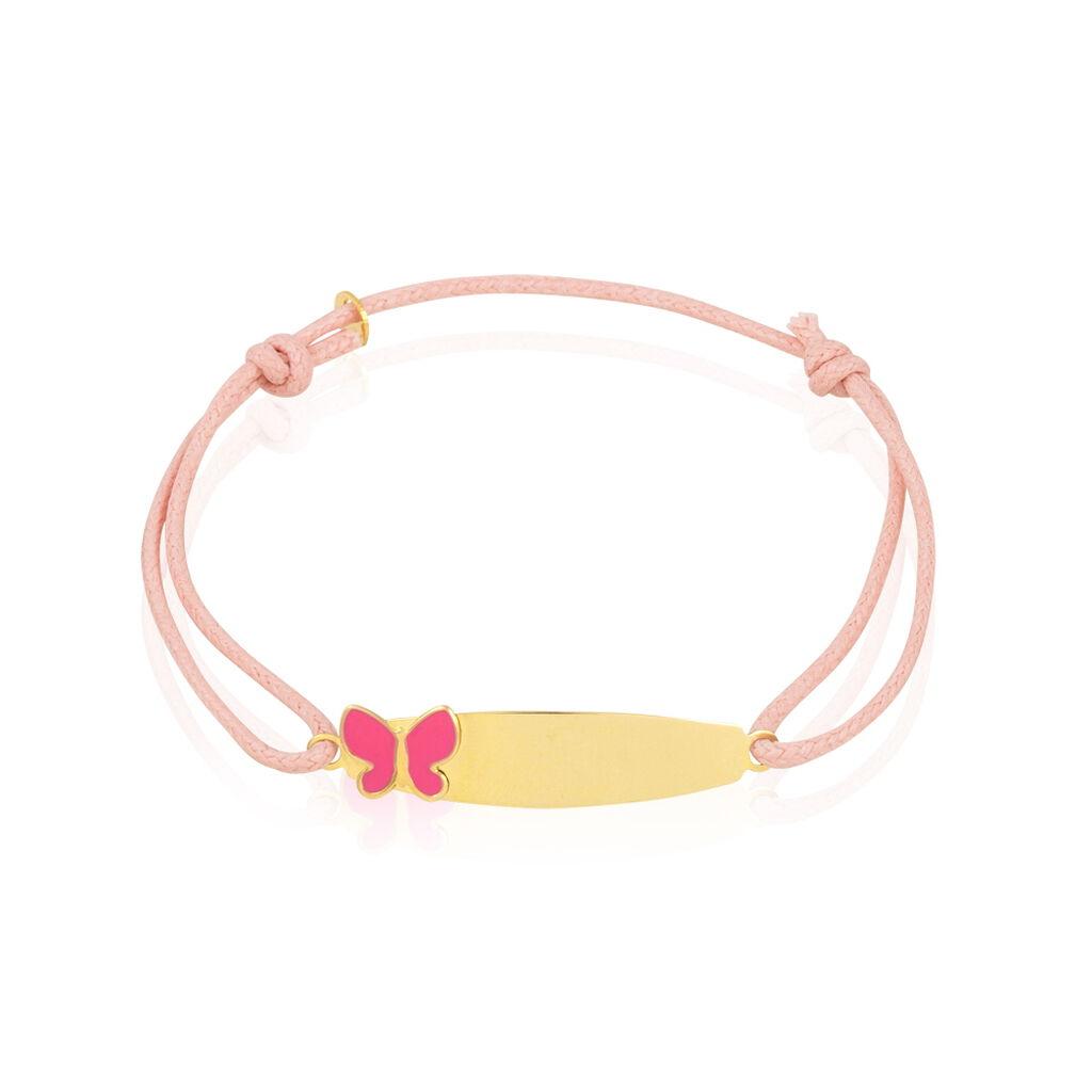 Bracelet Identité Nelsia Or Jaune - Bracelets Communion Enfant | Histoire d'Or