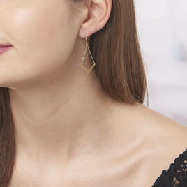 Boucles D'oreilles Pendantes Ella Or Jaune - Boucles d'oreilles pendantes Femme | Histoire d'Or