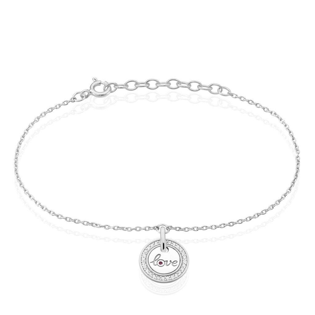 Bracelet Wotan Argent Rhodie Oxyde Oxyde - Bracelets fantaisie Femme | Histoire d'Or