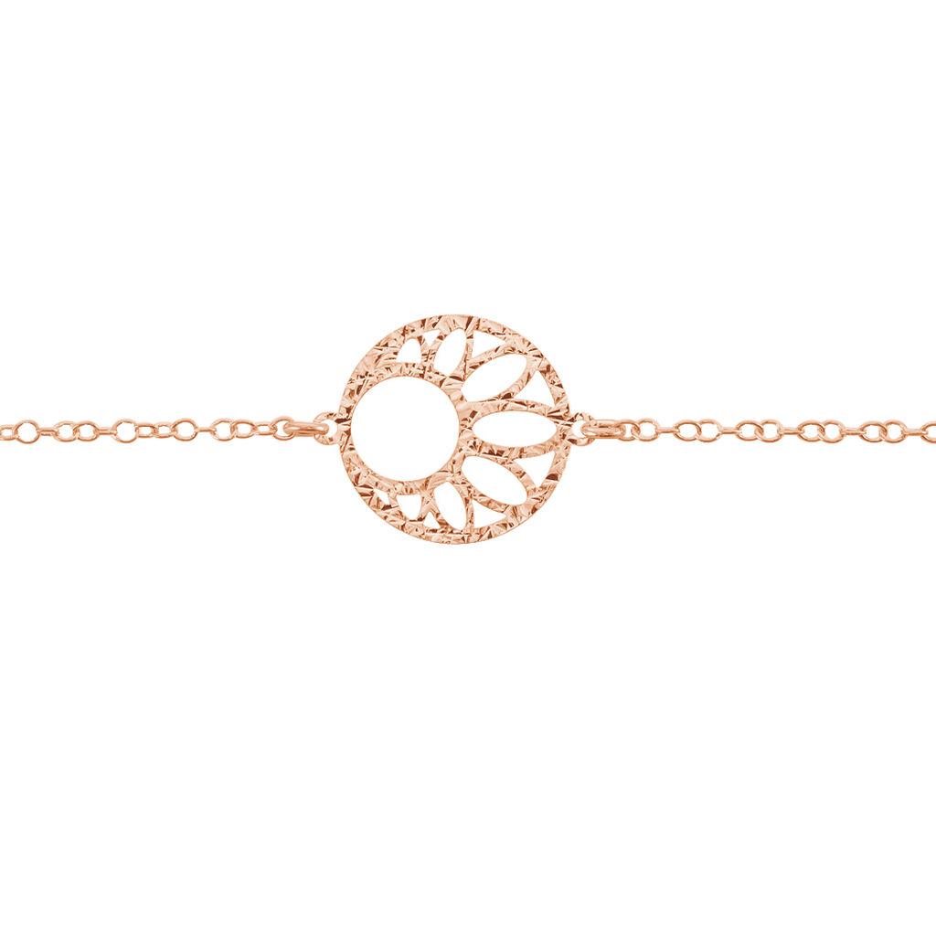 Bracelet Slorane Argent Rose - Bracelets fantaisie Femme | Histoire d'Or