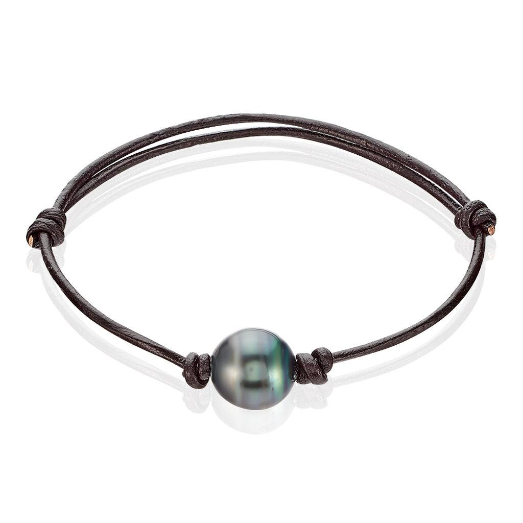 Bracelet Reba Perle De Culture De Tahiti - Bracelets cordon Femme | Histoire d'Or