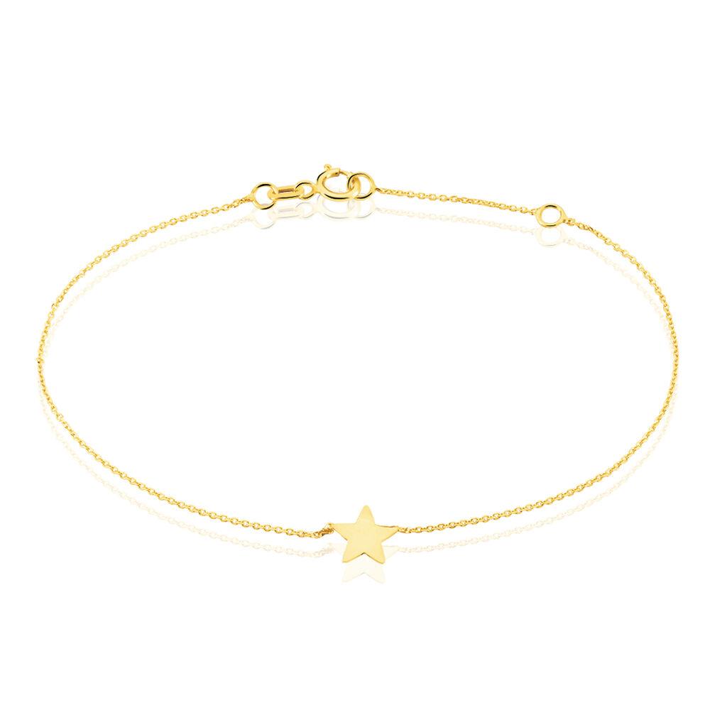 Bracelet Tinia Or Jaune - Bijoux Etoile Femme | Histoire d'Or
