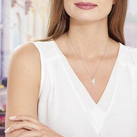 Collier Ritej Argent Blanc - Colliers fantaisie Femme | Histoire d'Or