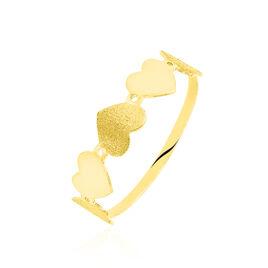 Bague Or Jaune Cœur - Bagues Coeur Femme | Histoire d'Or